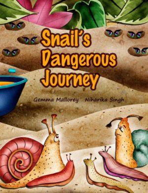 Snail's Dangerous Journey, Cover Image