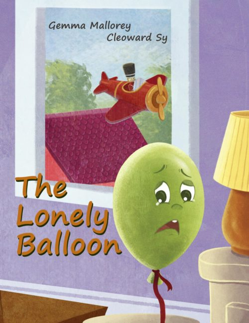 The Lonely Balloon, Cover Image