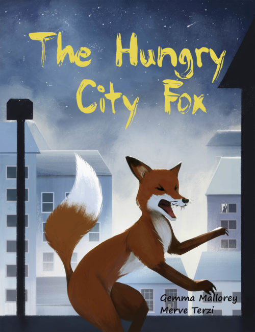 The Hungry City Fox, Cover Image